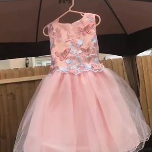 Other - NWT Isabella Butterfly Dress in Pink
